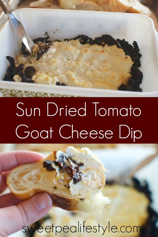 sun dried tomato goat cheese dip recipe