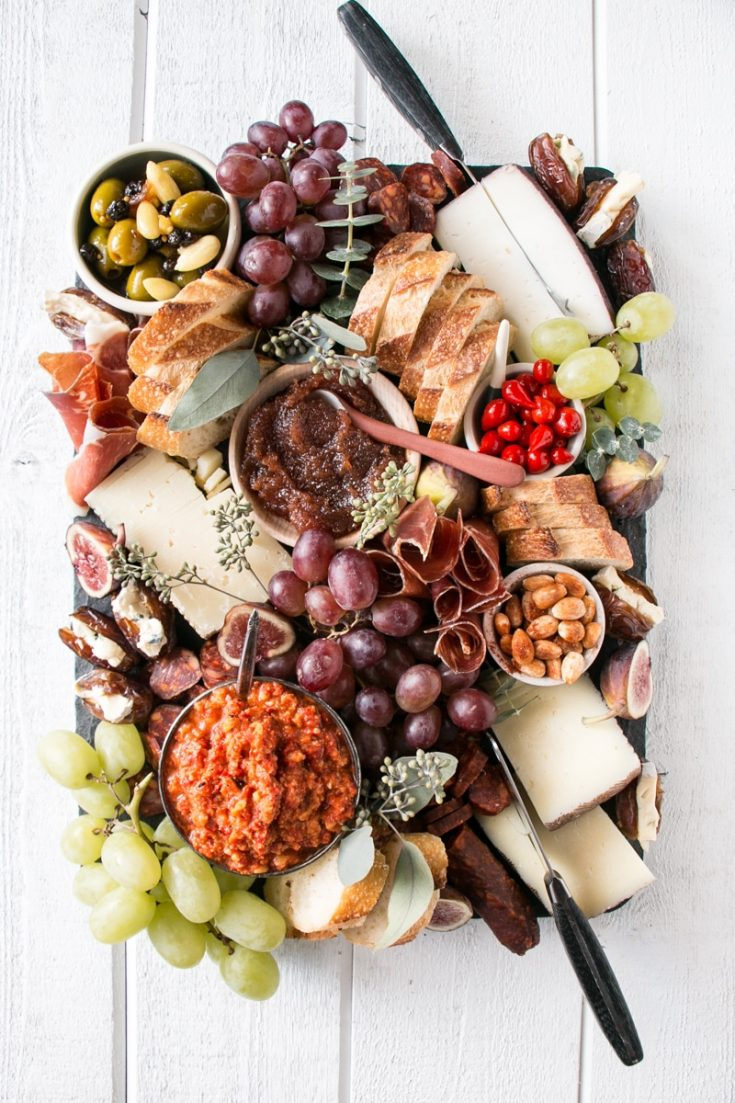 Spanish Cheese Board (How To Make a Cheese Board)
