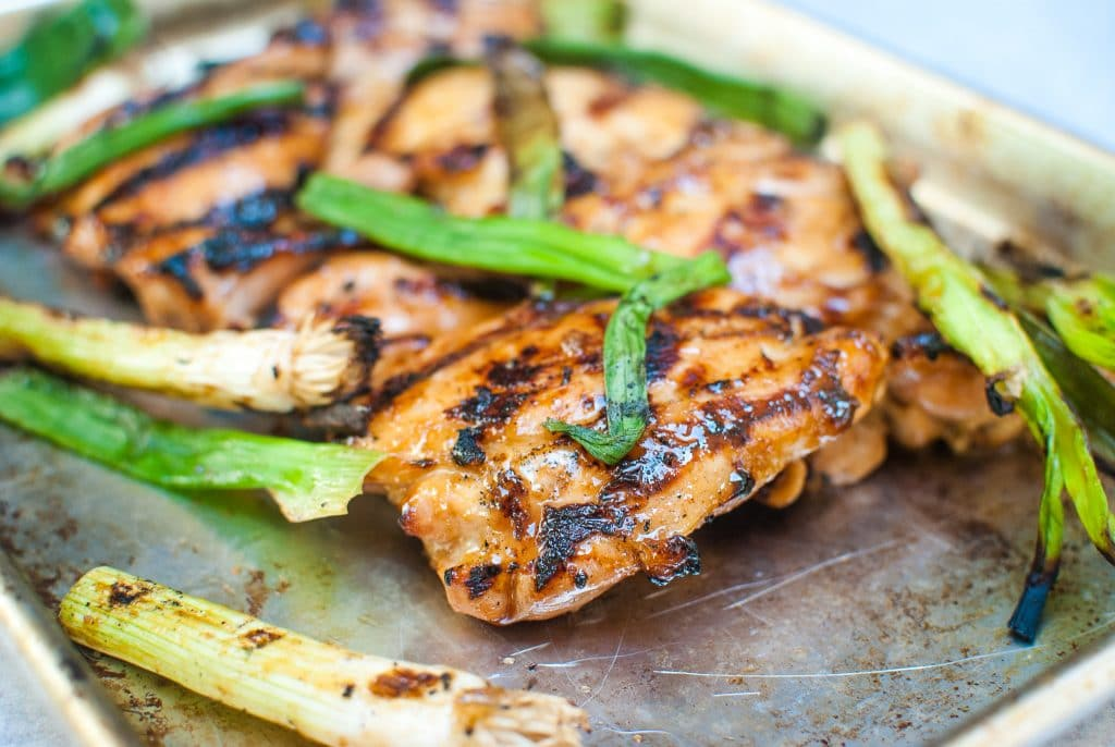 Grilled Pickled Vidalia Chicken