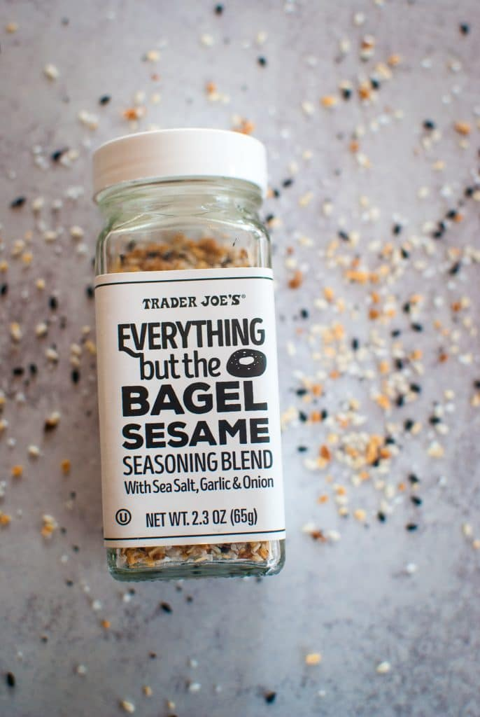 everything but the bagel seasoning from trader joes