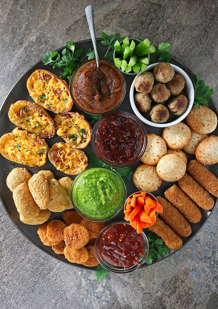 Spicy Saucy Snackin' Platter & A Giveaway