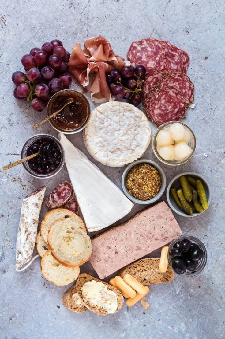How to Create A French Charcuterie Platter