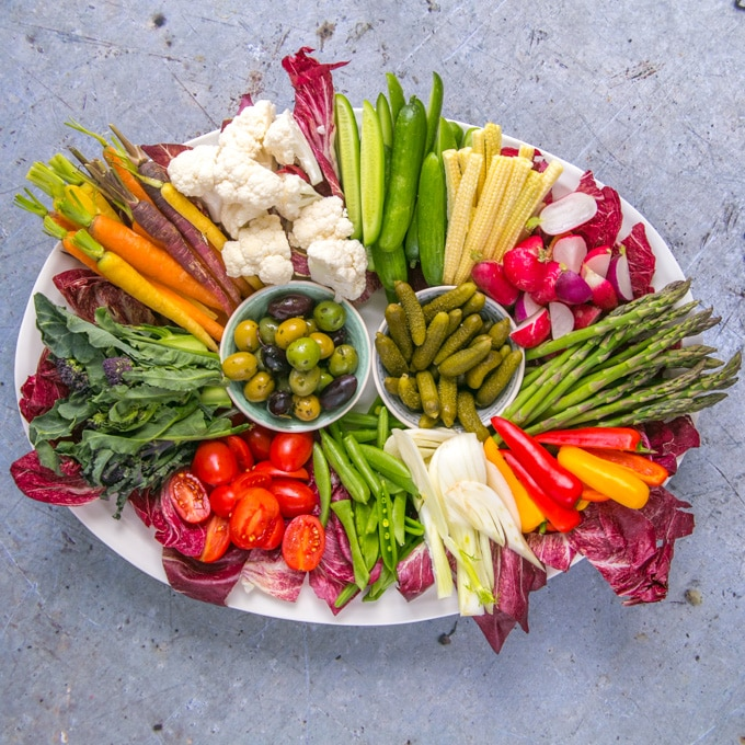 How to Make the Ultimate Crudité Platter!