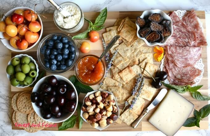 Paleo Picnic for Wine Tasting