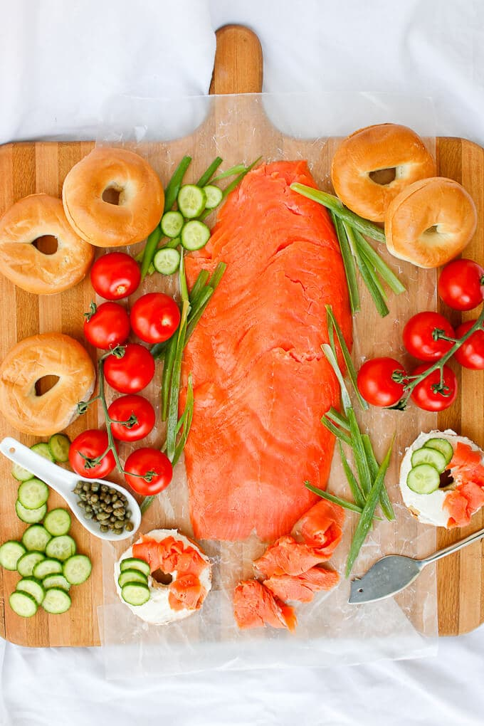 Everything You Need to Know about Bagels + Lox