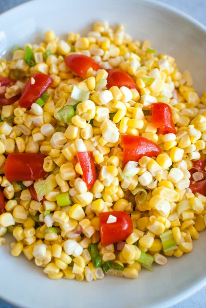 corn salad recipe from reese witherspoon's whiskey in a teacup