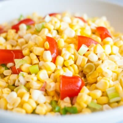 corn salad recipe idea from reese witherspoon