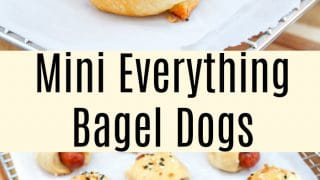 Mini Everything Bagel Dogs