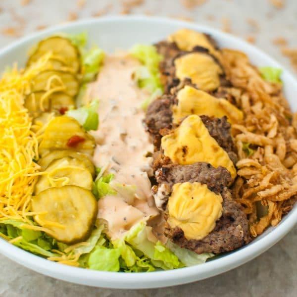 The ULTIMATE Burger Cobb Salad