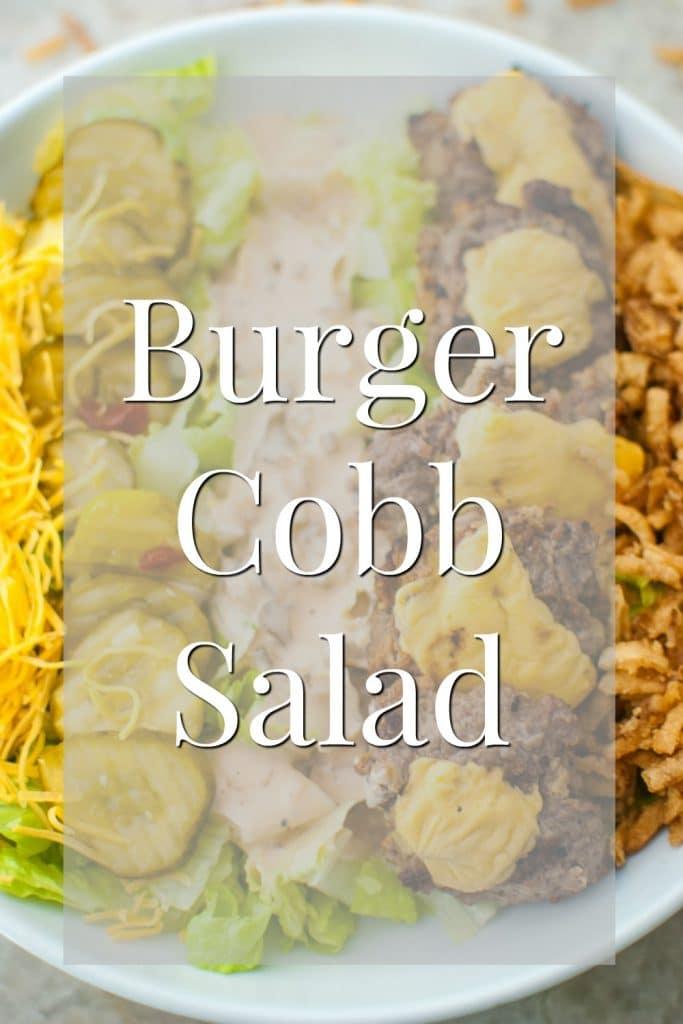 burger cobb salad