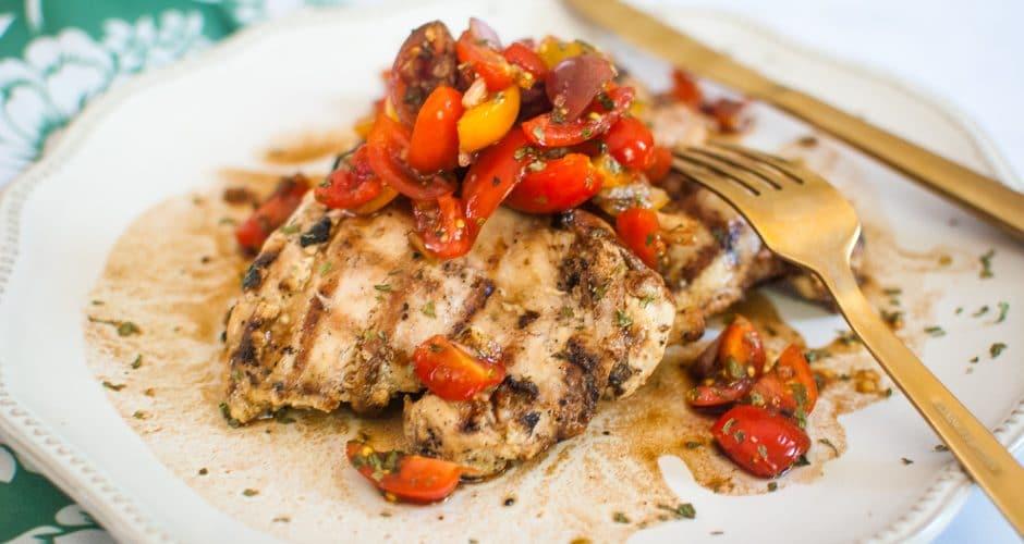 The Best Bruschetta Chicken Recipe