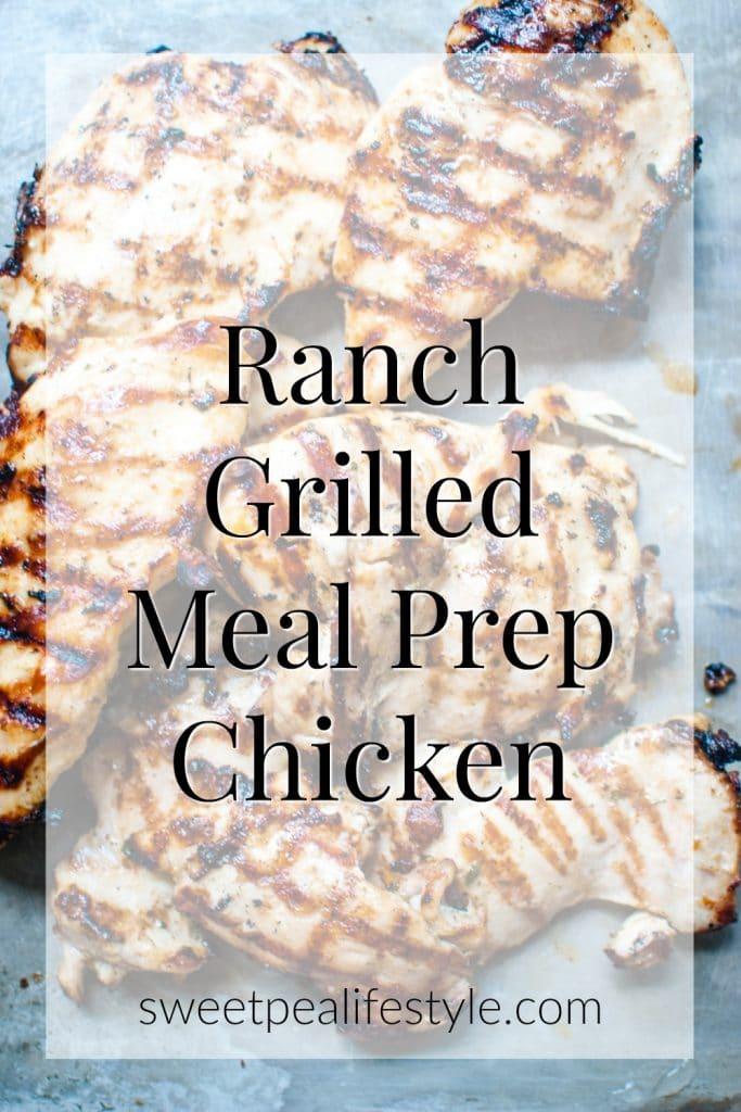grilled ranch chicken recipe