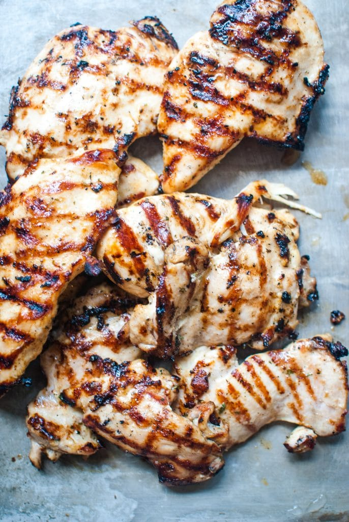 low carb ranch grilled chicken