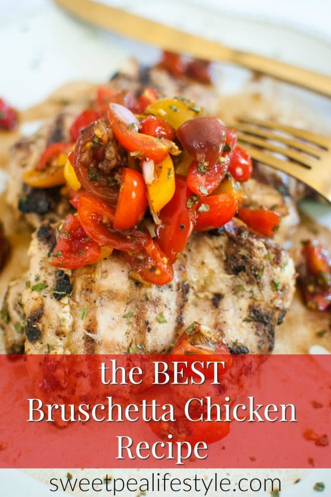 the best bruschetta chicken recipe
