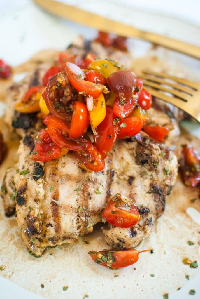 tomato bruschetta chicken recipe