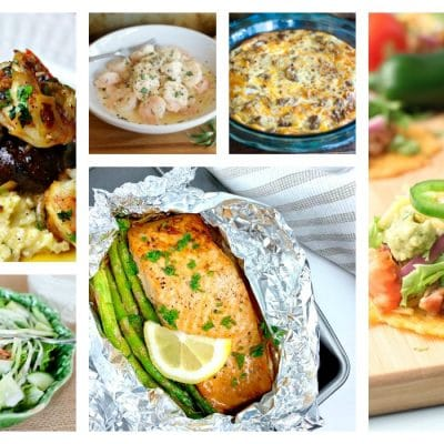 weekly low carb meal plan