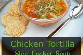 The EASIEST & Best Slow Cooker Chicken Tortilla Soup Recipe