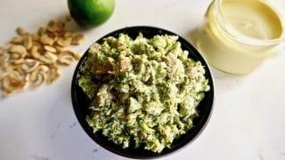 Curry Chicken Broccoli Slaw {Paleo, Dairy Free, Gluten Free}