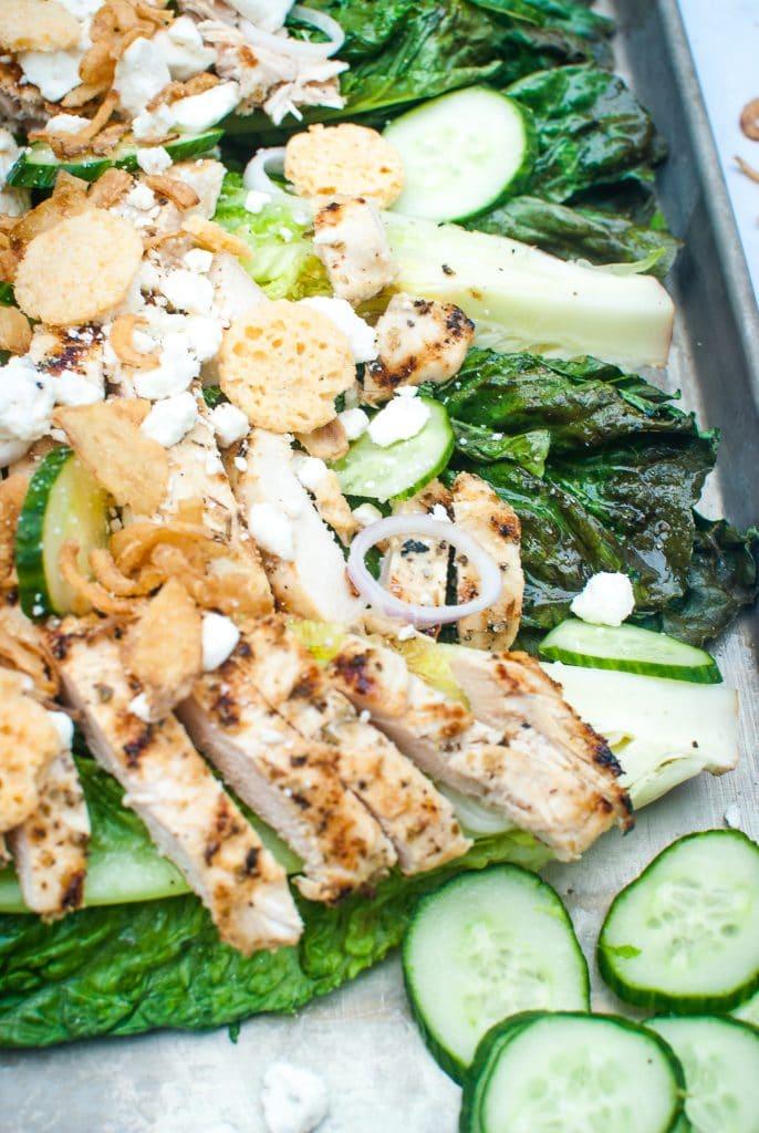 low carb greek chicken salad recipe