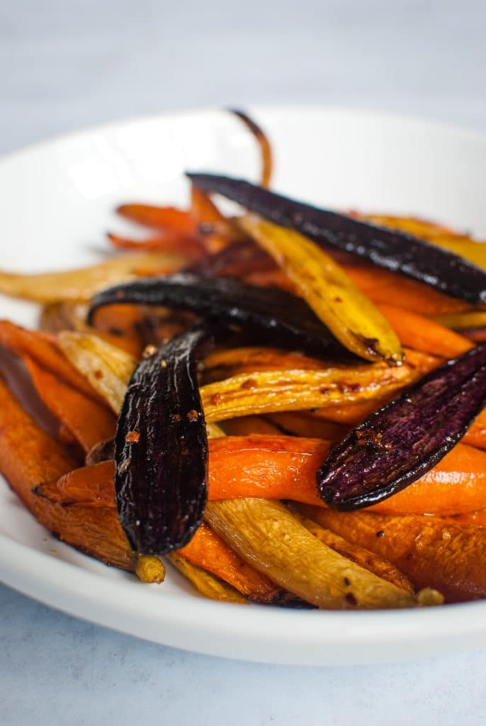 Low Carb Roasted Carrots