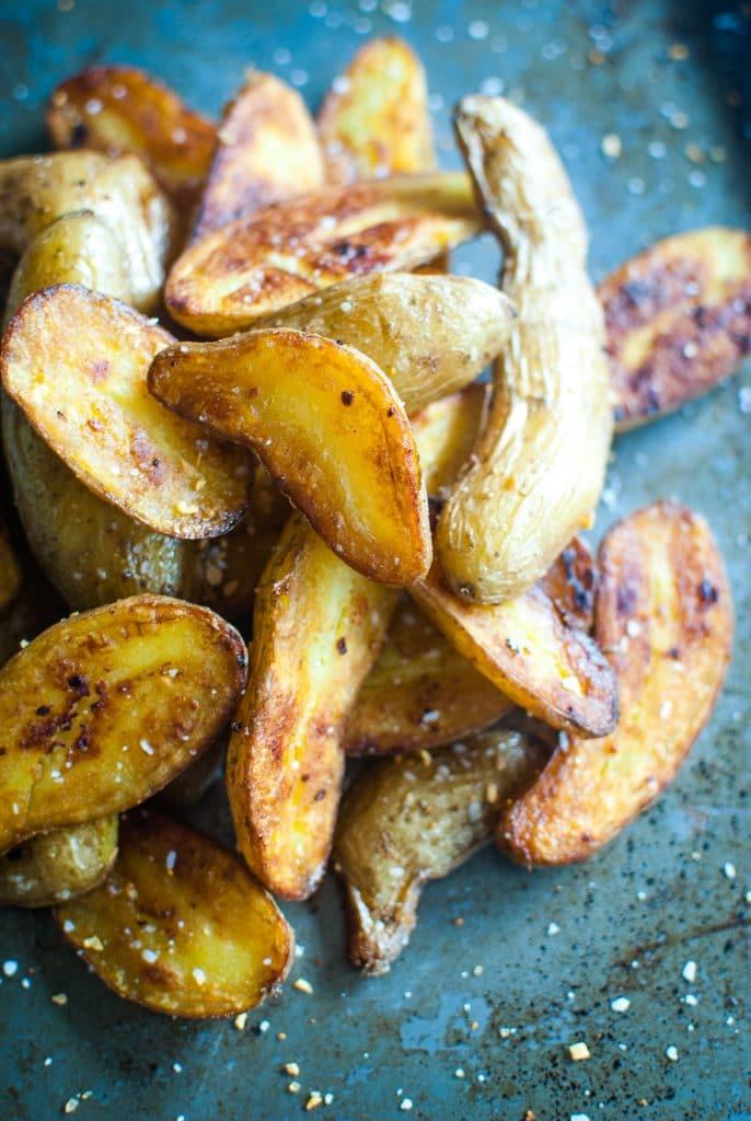 3 Ingredient Roasted Potatoes