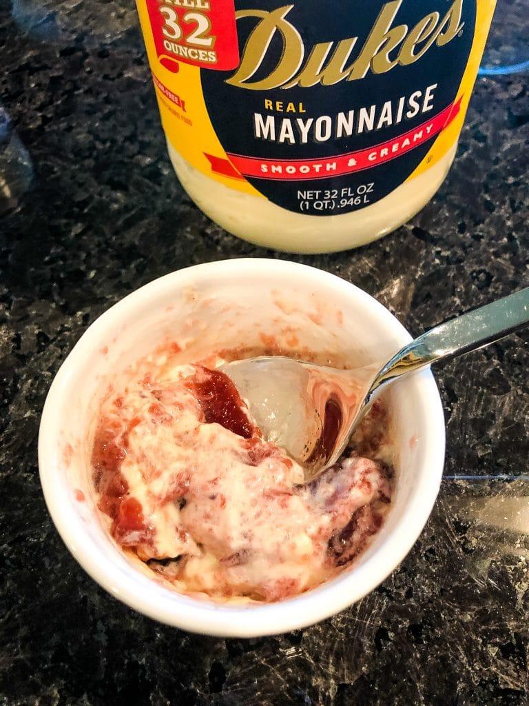 Cranberry Duke's Mayonnaise
