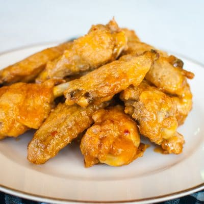 Jalapeno Apricot Chicken Wings