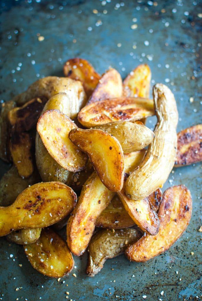 Pan Roasted Fingerling Potatoes