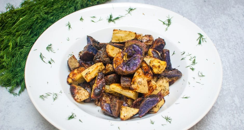 Dilly Ranch Roasted Potatoes
