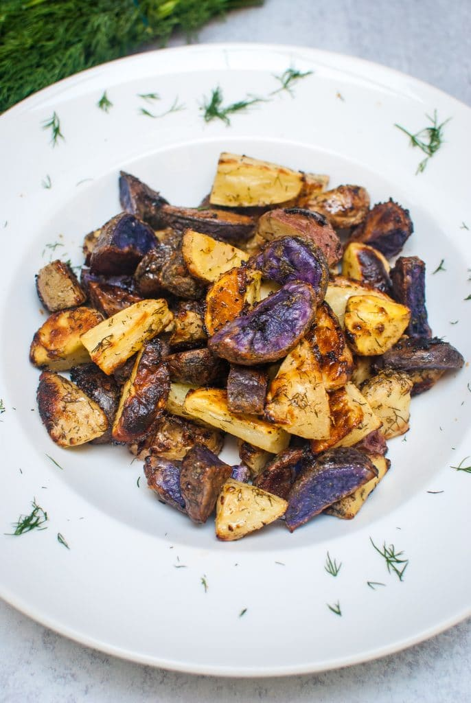 Dilly Ranch Roasted Potatoes Recipe