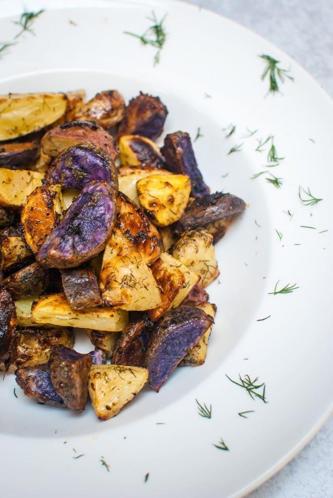 Potatoes Seasoned with Dill