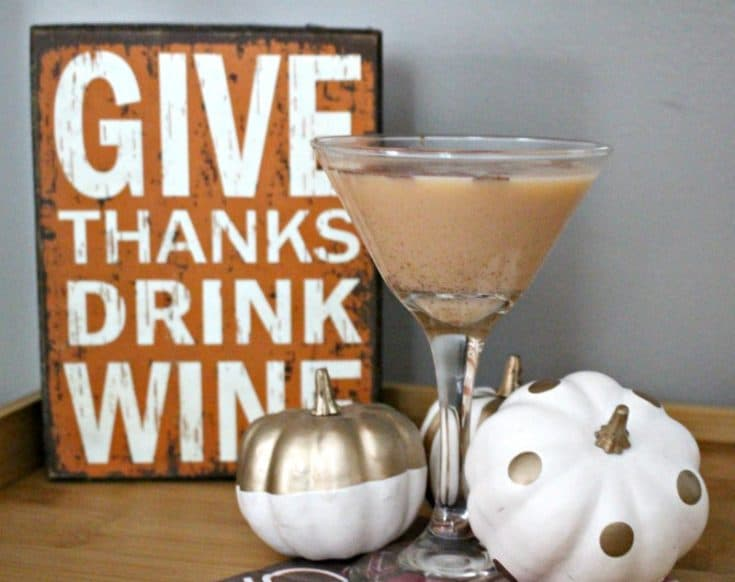 How To Make A Pumpkin Pie Martini Our Crafty Mom