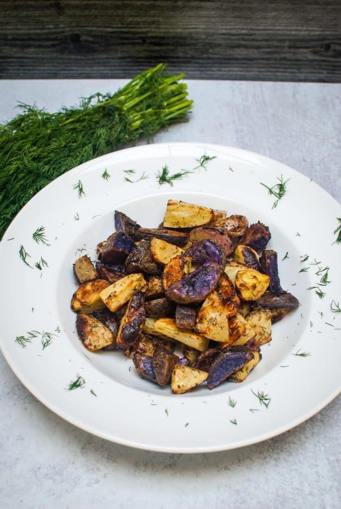 Ranch Seasoned Roasted Potatoes