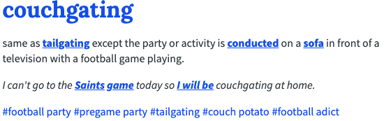 couchgating definition