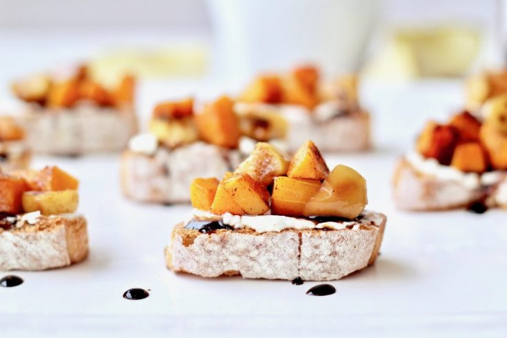 Butternut Squash Bruschetta Recipe and Sonoma Cutrer Wines