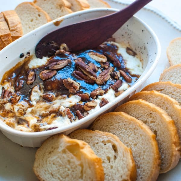 Brown Sugar & Spice Glazed Goat Cheese