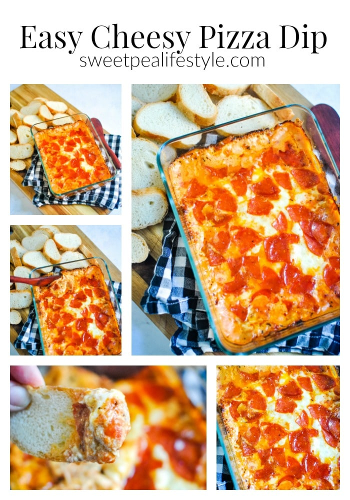 Easy Cheesy Pizza Dip Appetizer Recipe