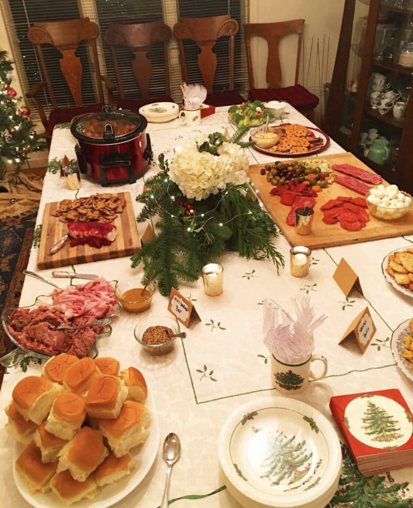 christmas buffet recipes