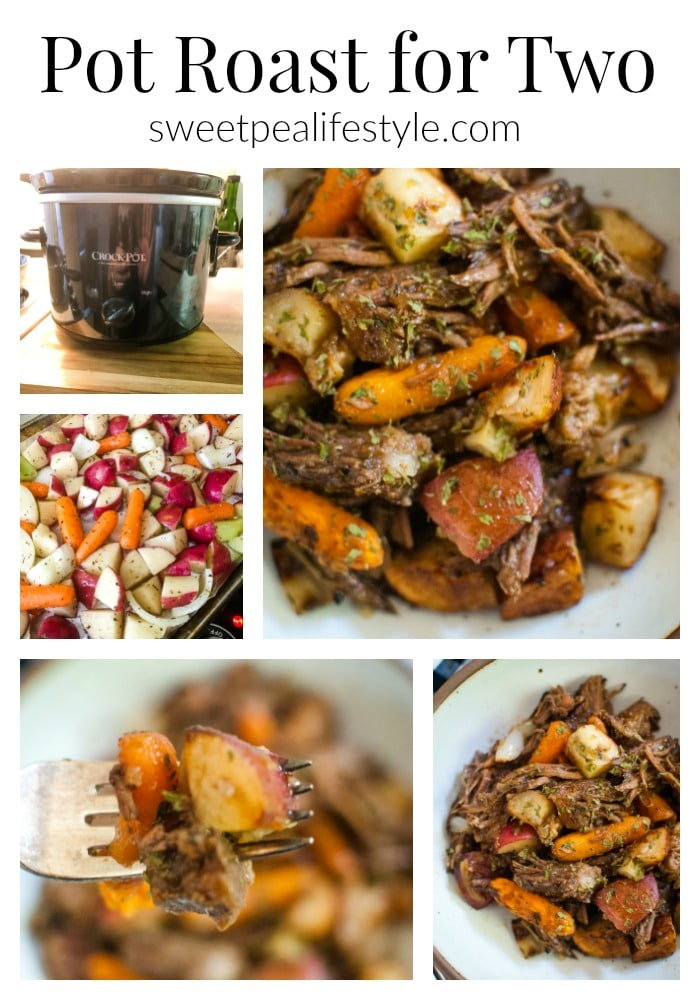 Recipe for Pot Roast for Two