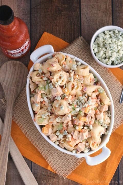 Buffalo Chicken Pasta Salad