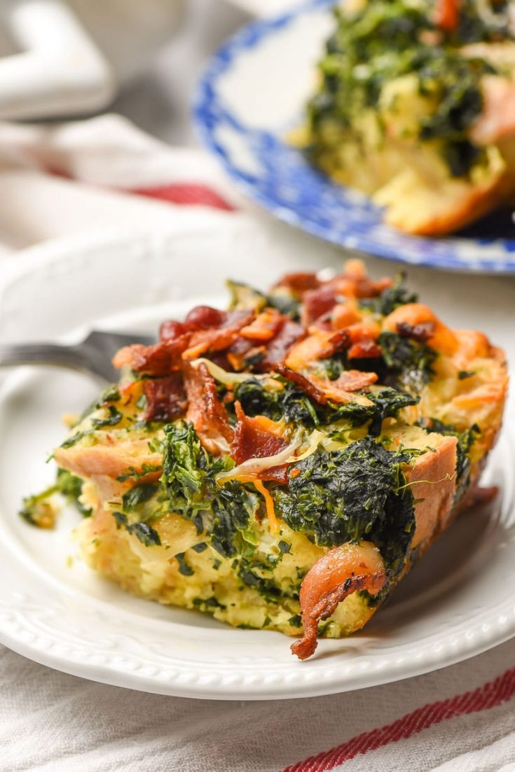 Overnight Breakfast Casserole with Bacon