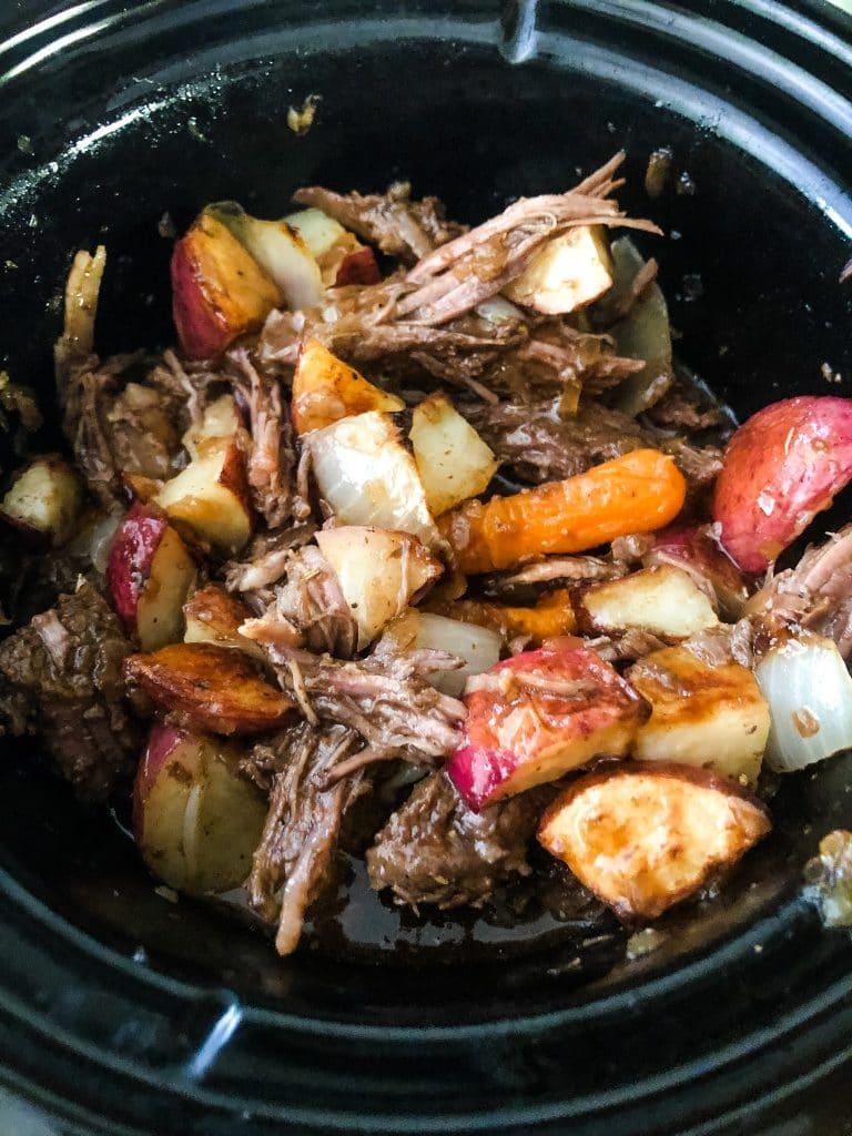 pot roast dinner for two recipe idea