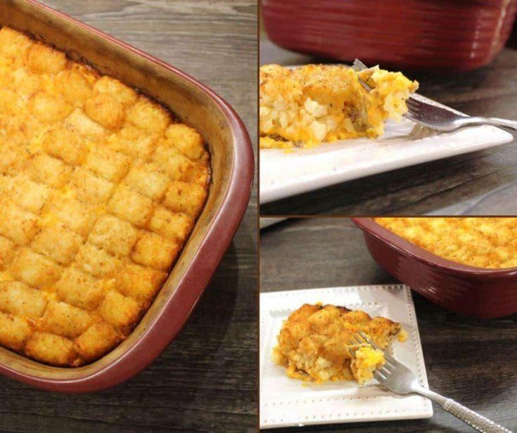 Tater Tot Casserole Comfort Food Recipe
