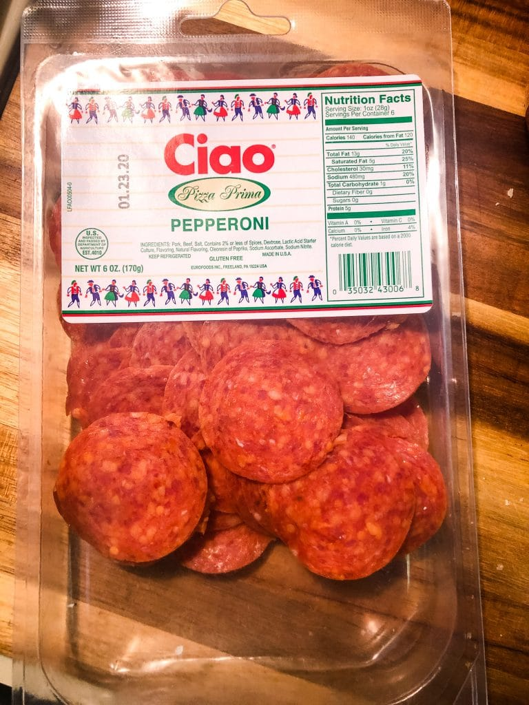 trader joe's pepperoni