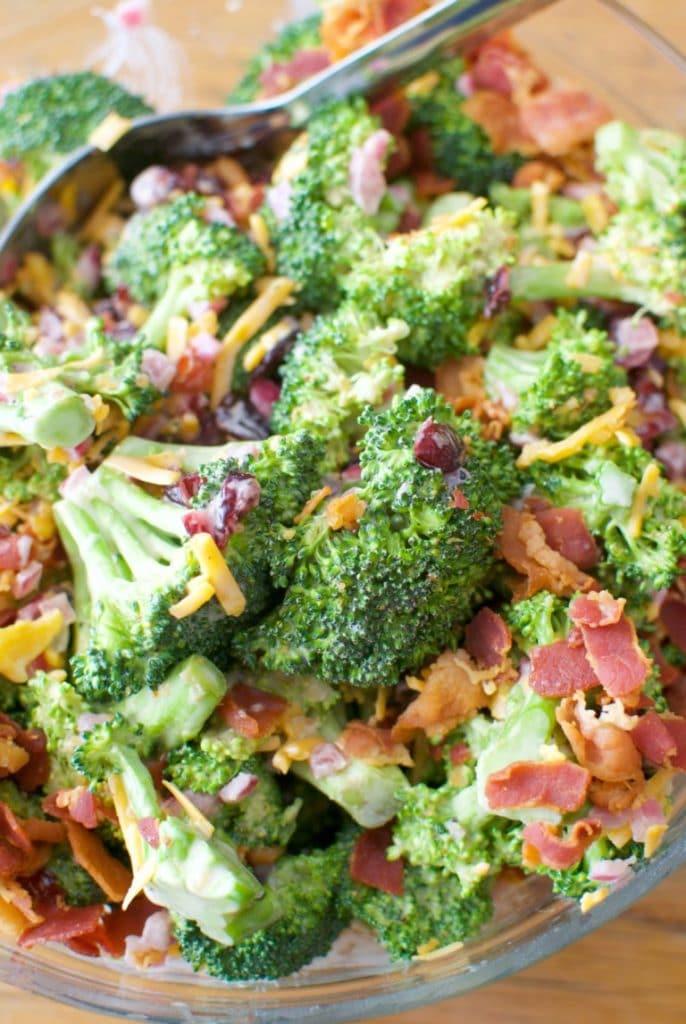 easter broccoli salad
