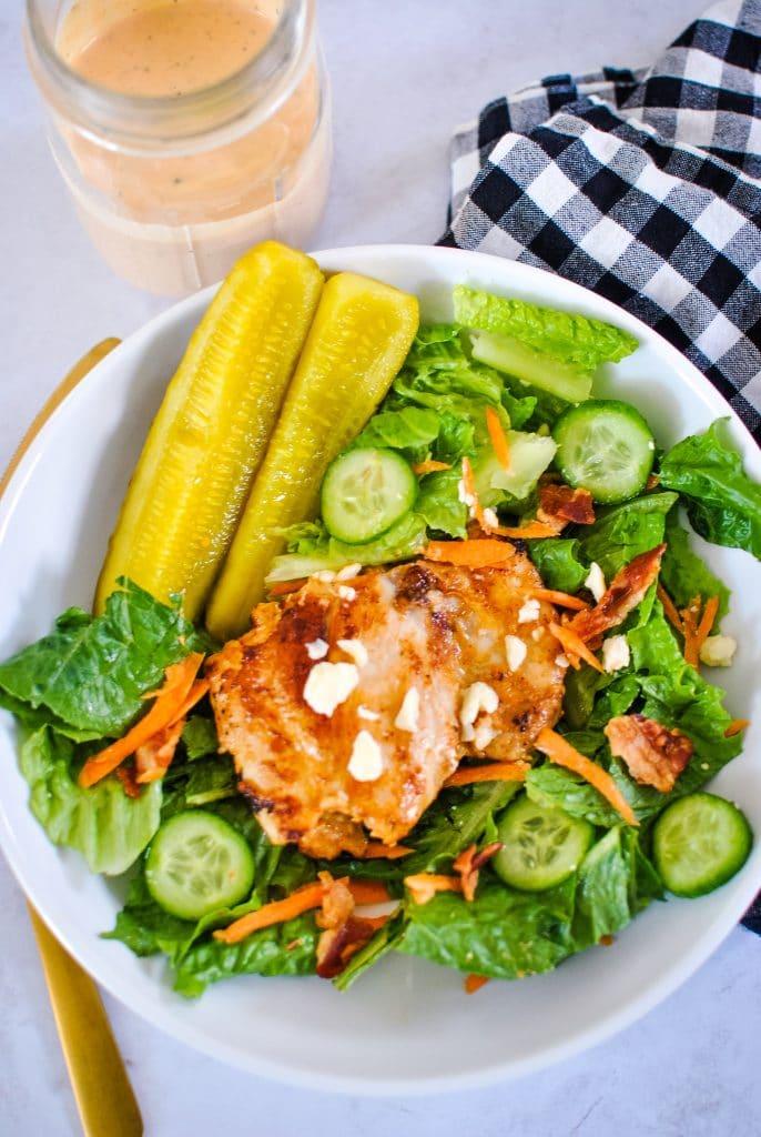 Keto Special Sauce Chicken Salad