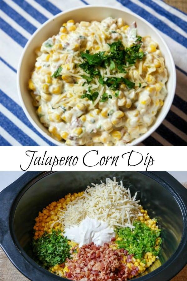 Jalapeno Corn Dip Recipe with Crock-Pot® Slow Cooker