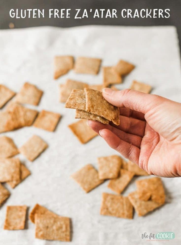 Gluten Free Za'atar Crackers (Vegan)