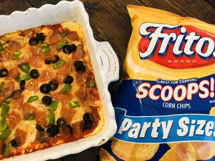Easy Cheesy Pizza Party Dip