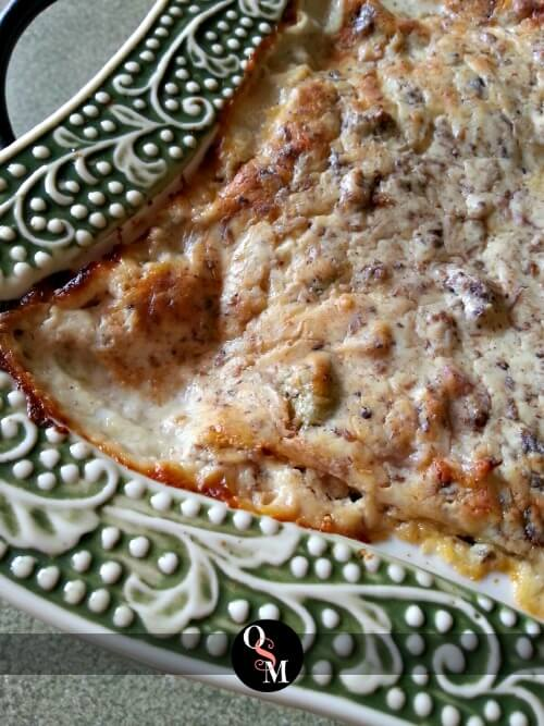 Baked Cheesy Beef and Pepper Dip - Low Carb Appetizer Recipe